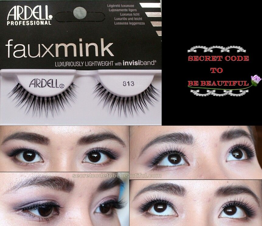 e24be85922a Ardell faux mink lashes #813 Visit secretcodetobebeautiful.com to see the  full review