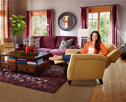 Brooke Kicks Back Home Lazy Boy Furniture Boys Furniture