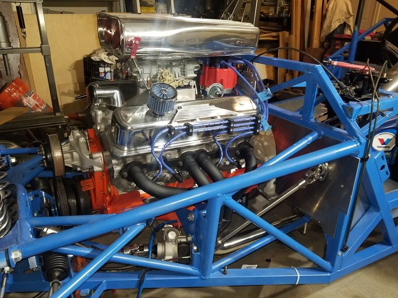 Build Thread – 33 Hot Rod - This is the motor out of my 89