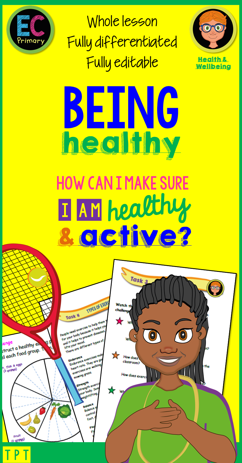 Being Healthy Lesson in 2020 Pshe lessons, Classroom