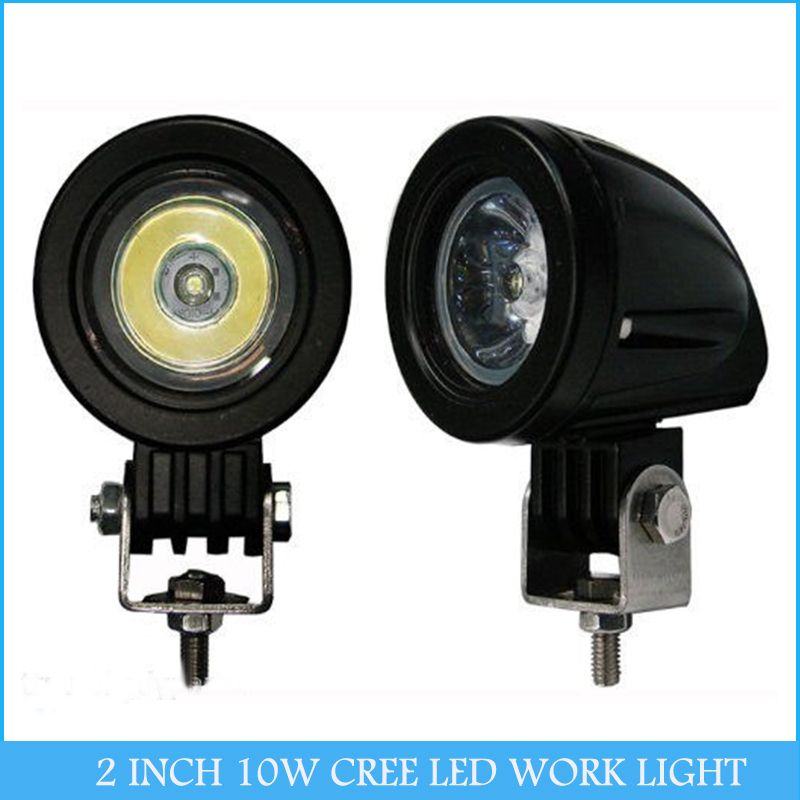 US $14.95 |2 INCH 10W CREE LED WORK LIGHT FLOOD BEAM for OFF ROAD USE FOG LAMP H2899|light emitting diode red|light providerlight gadget - AliExpress