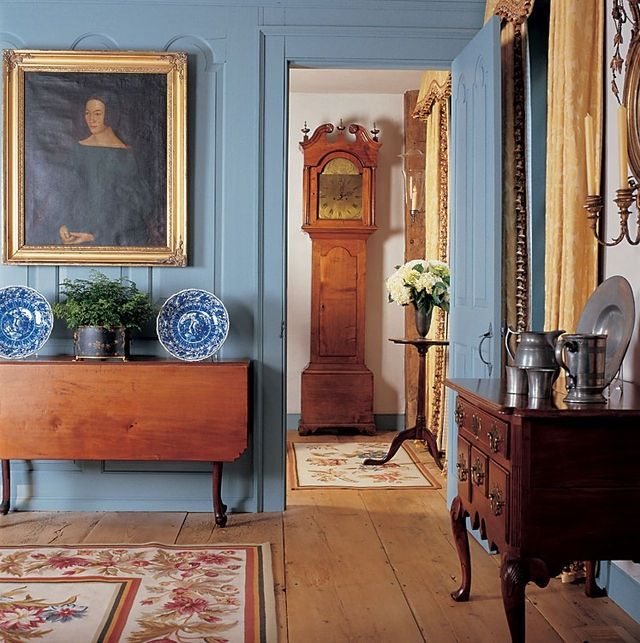 American Colonial Interiors: Blue & White Home 4