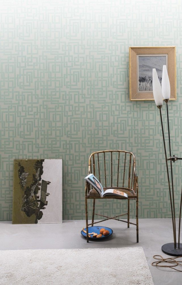 « Enigma » wallpaper (Farrow & Ball).