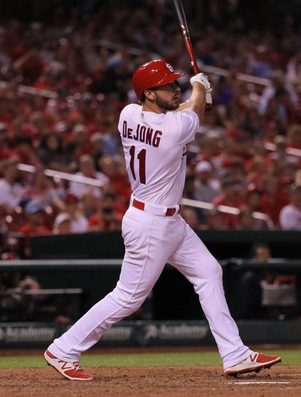 Cards Keep Win Streak Going With 8 5 Win Over Braves St Louis Cardinals Baseball Stl Cardinals Baseball Braves Baseball