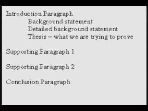 sample outline for argumentative essay