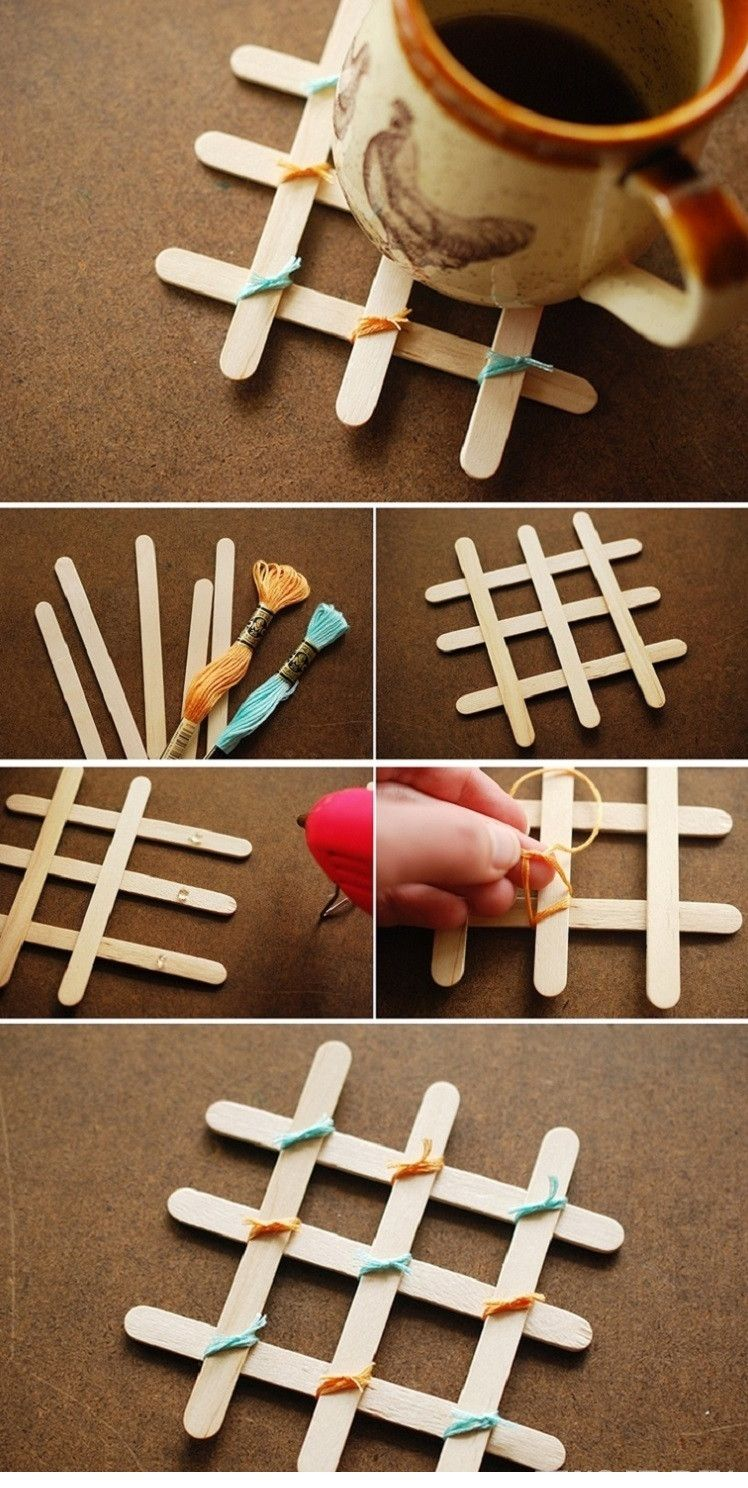 Coasters With Sticks For Ice Cream With Sticks For Ice