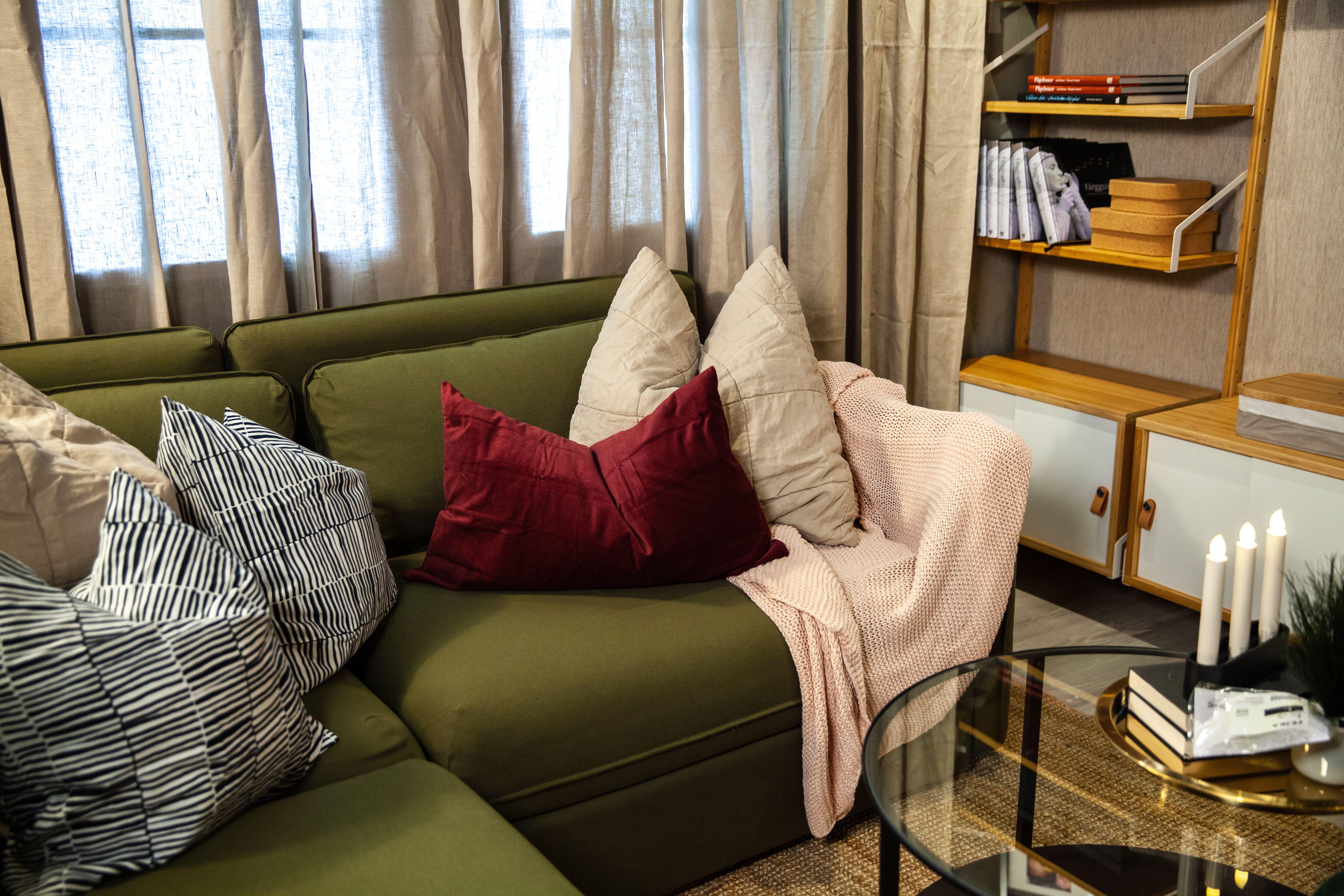 Seating Corner زاوية جلوس Ikea Living Room Home Home Decor