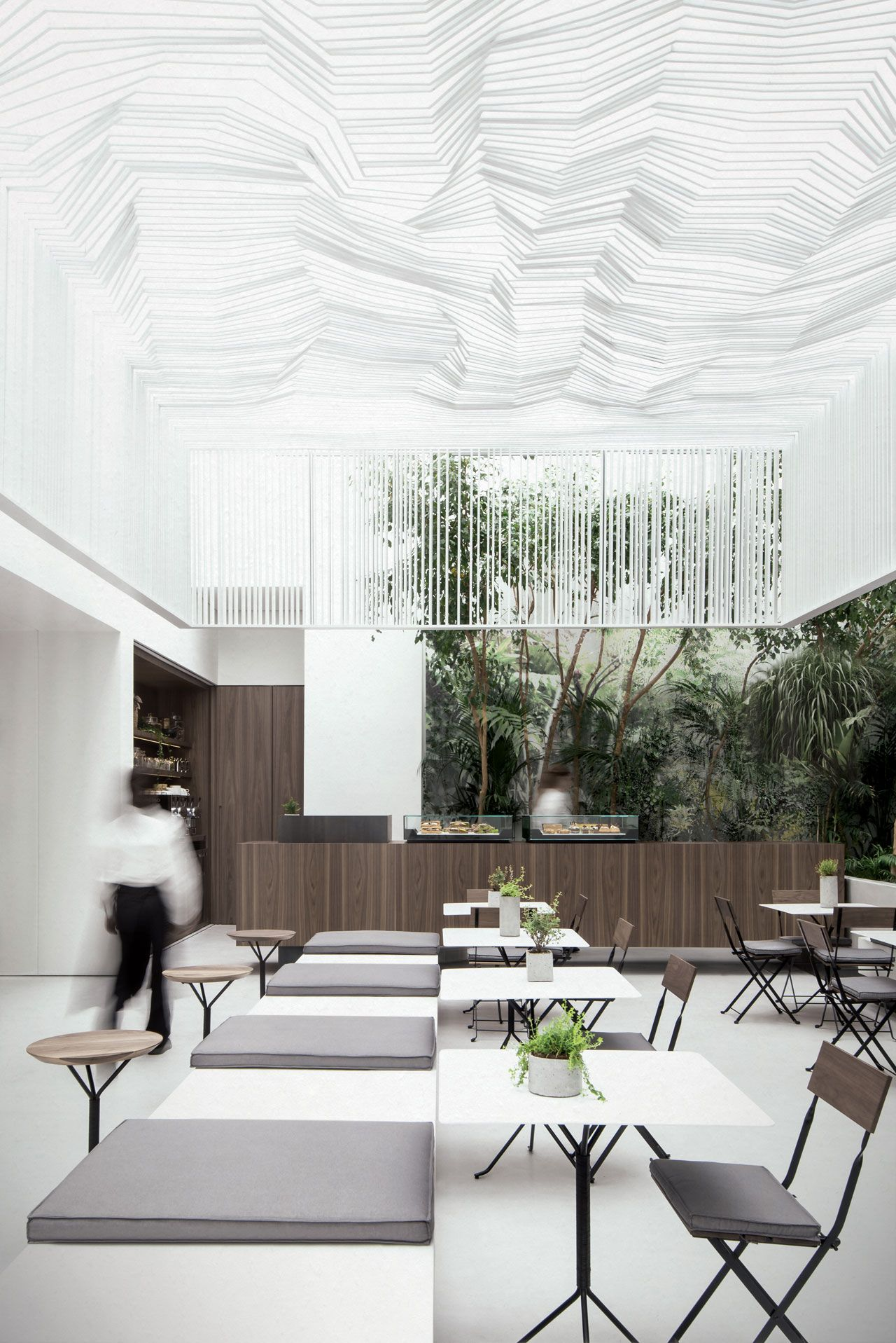 The New Cycladic Art Museum Shop & Café in Athens, Greece by Kois ...
