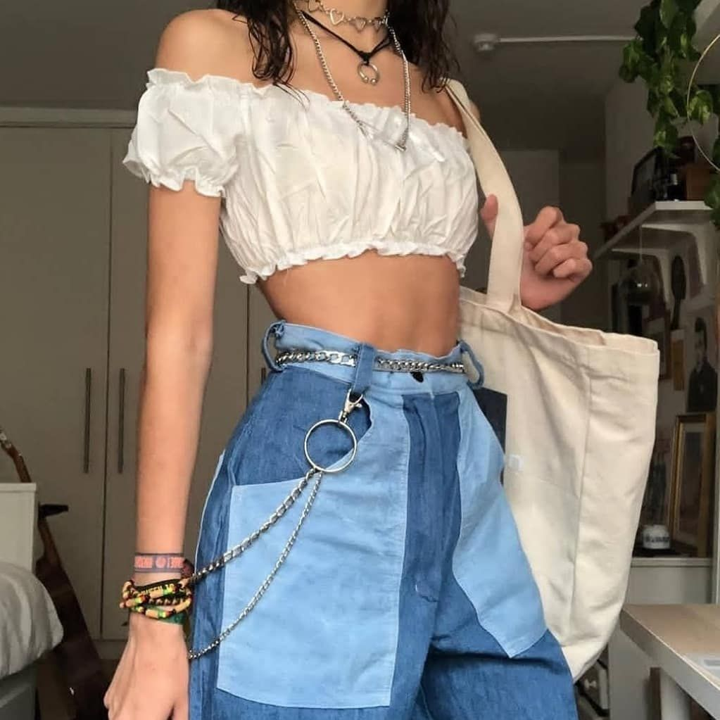 Softgirl Aesthetic 33k On Instagram 1 2 3 4 5 6 7 8 9 Or 10 Follow Softgirl Aest For More Outfit Inspo Credits In 2020 Aesthetic Clothes Edgy Outfits Fashion