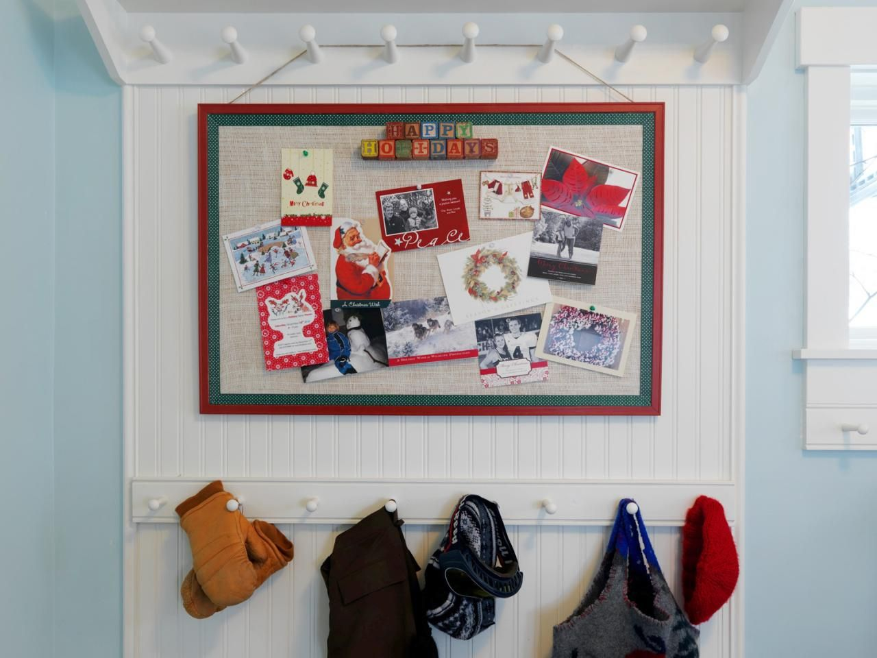 How to Make a Holiday Greeting Card Display  Greeting card