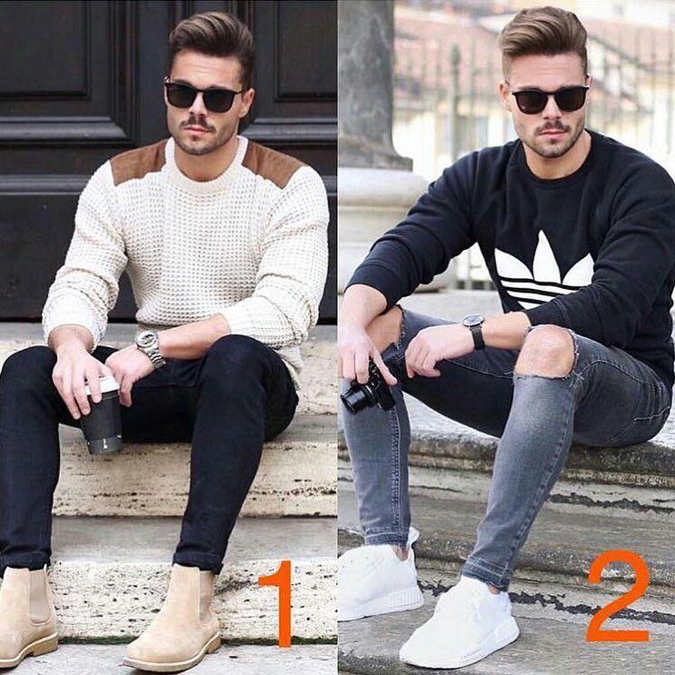 Men style fashion look clothing clothes man ropa moda para hombres outfit  models moda masculina urbano urban estilo street 475635484a5
