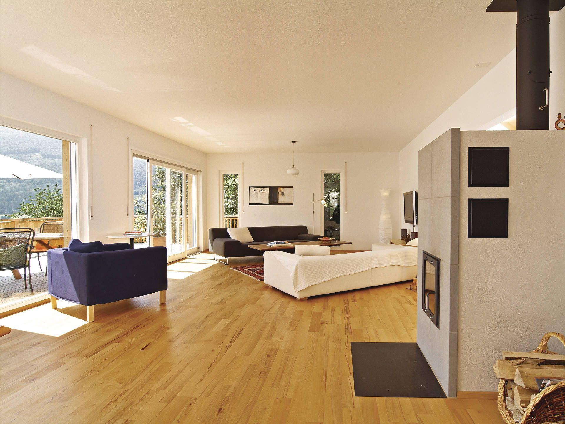 Musterhaus inneneinrichtung wohnzimmer  Kamin im Haus Balance 300 von WeberHaus • Mit Musterhaus.net ...