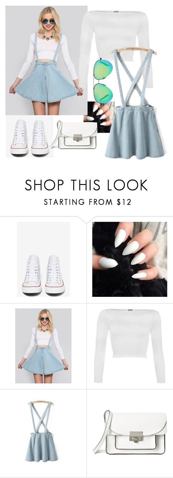 """""""It's over"""" by jlol ❤ liked on Polyvore featuring Converse, WearAll, Marc by Marc Jacobs and Victoria Beckham"""