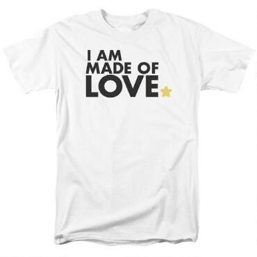 Steven Universe I Am Made of Love Adult White T-Shirt ...
