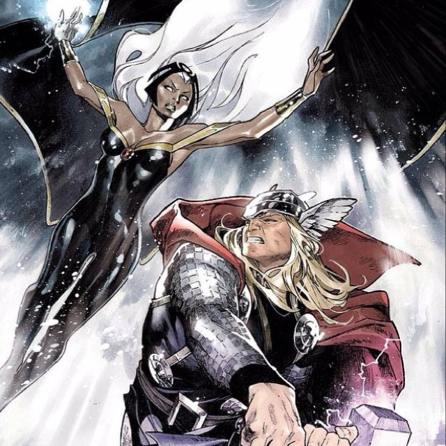 Thor dating storm
