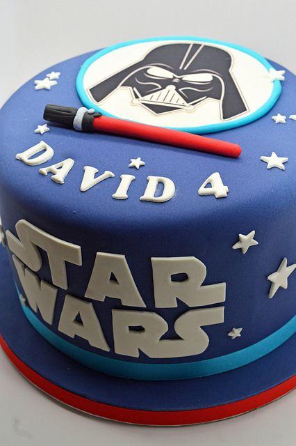 Patricia creative cakes guerra de las galaxias pastel - Bizcocho cumpleanos para ninos ...