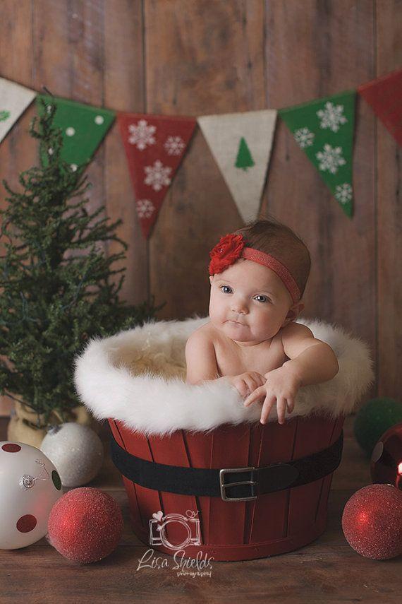Sesi n de fotos infantil con decoraci n navide a photo for Decoracion navidena infantil