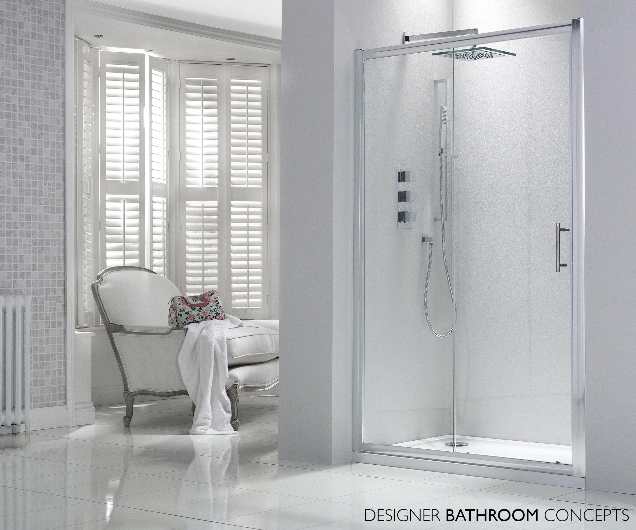 Aquaglass Designer Sliding Door Shower Enclosure from ...