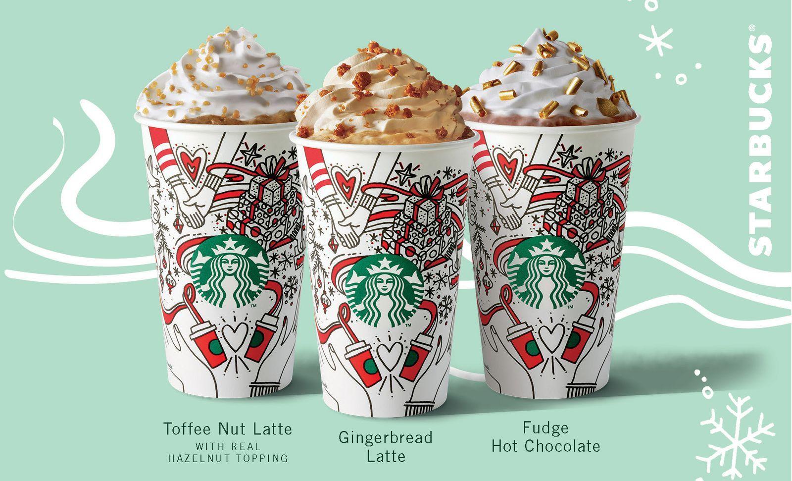 Starbucks Christmas Drinks.Starbucks Christmas Menu Is Here And There S A Brand New