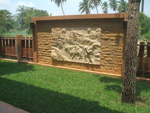 exterior boundary wall designs google search - Wall Fencing Designs