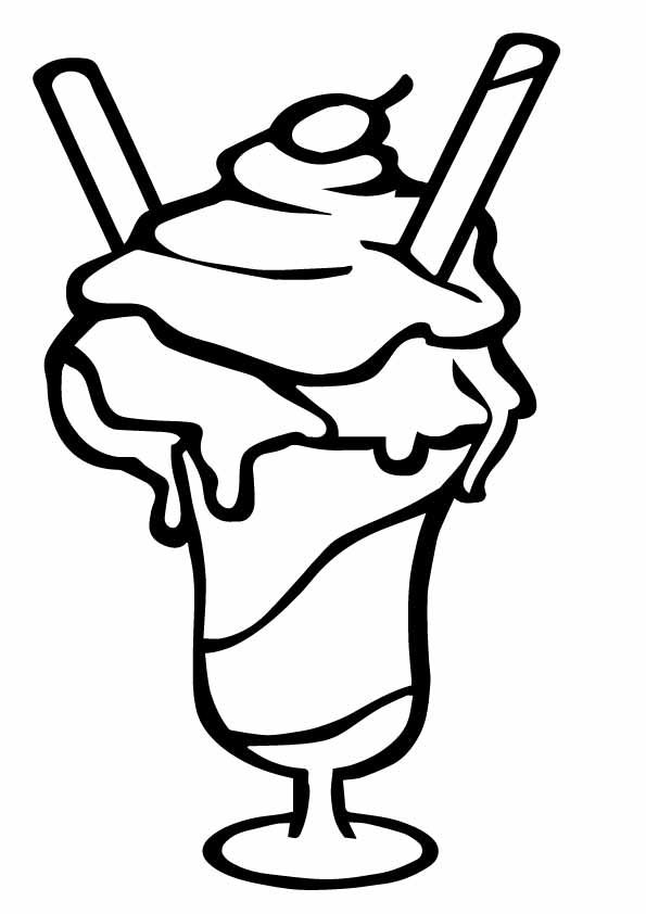 The Ice Cream Float Stra A4 Jpg 595 842 Ice Cream Coloring Pages Ice Cream Floats Ice Cream Sunday