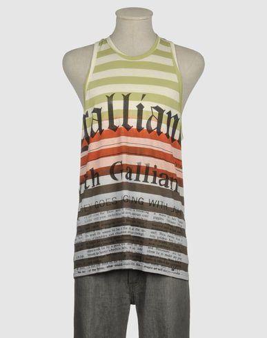 GALLIANO  Camiseta sin mangasColección YOOX:Primavera-Verano