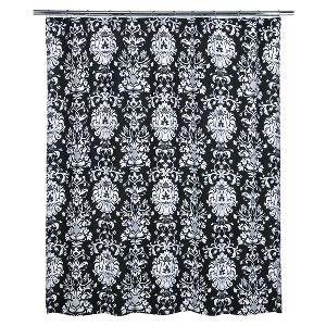 Xhilaration Damask Shower Curtain