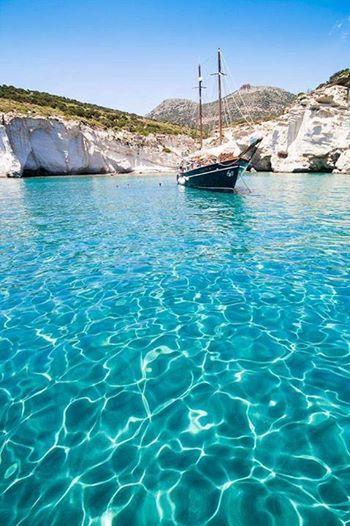 Ilha de Milos, Grécia.
