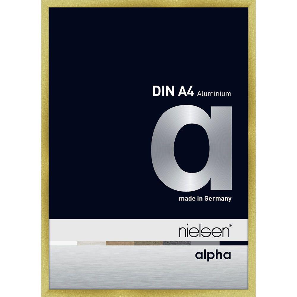 Nielsen Alurahmen Alpha 40x60 Brushed Gold