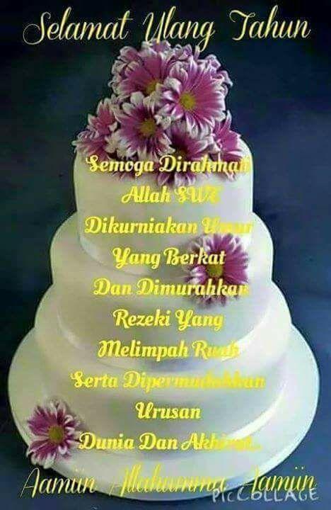 Ucapan Ulang Tahun Islami Untuk Ibu : ucapan, ulang, tahun, islami, untuk, Rudolof, Noriwari, Supono, Birthday, Kutipan, Selamat, Ulang, Tahun,, Ucapan, Tahun