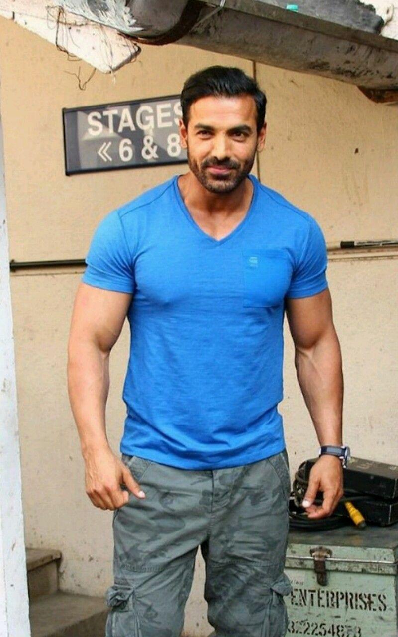 Indian actor/model/bodybuilder John Abraham   John abraham