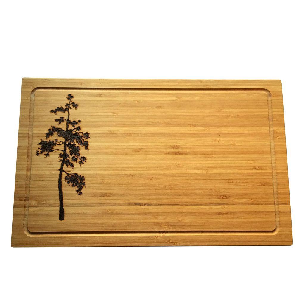 Ponderosa Cutting Board // Cheese Board Pyrography Wood Burning ...