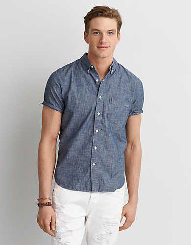 50fe446013cf Sharpen up your summer look with our new collection of short-sleeve button  downs.