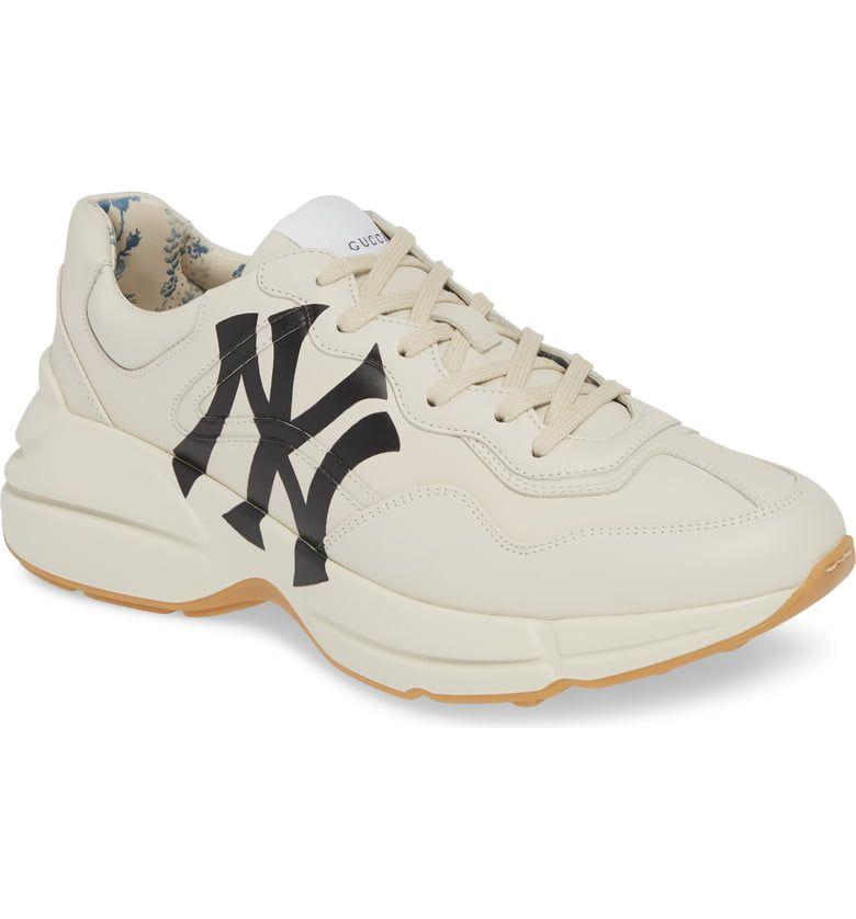 Rhyton Sneaker With Ny Yankees™ Print