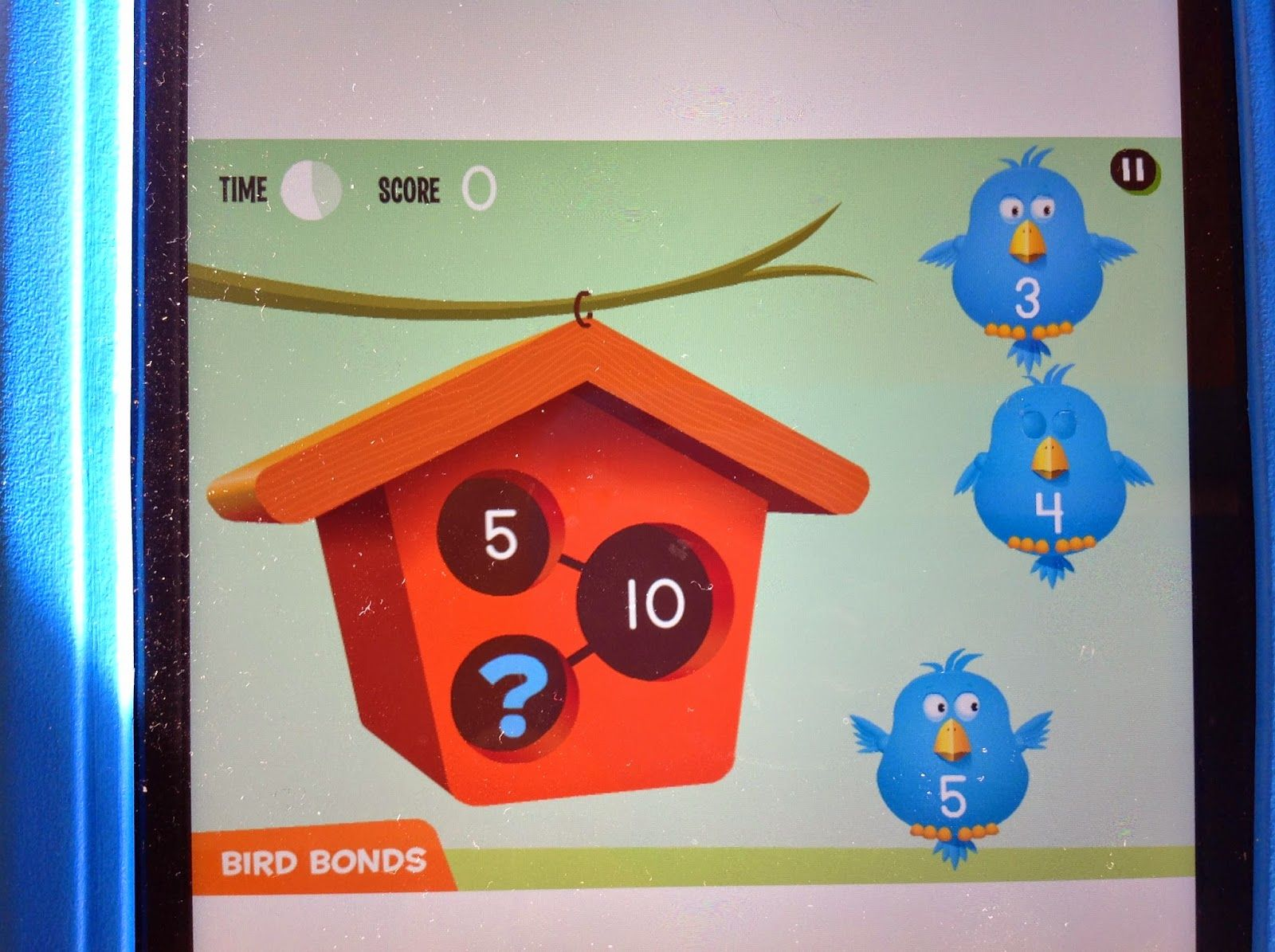 Number Bonds On The Ipad
