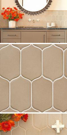 6th Avenue Cocoon Mosaic In Flax Matte Walker Zanger