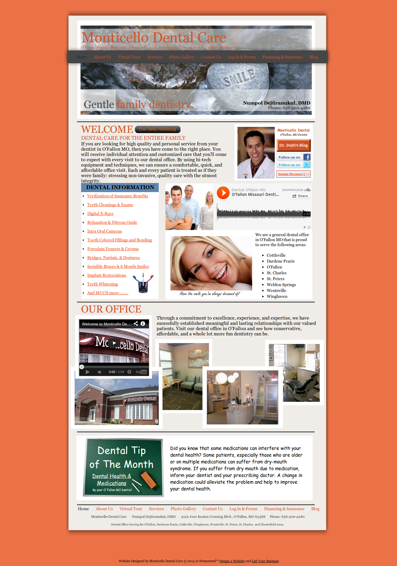 Our Website At Monticellodental Com Monticello Dental Is A Dental Office In O Fallon Mo 63368 Family Dentistry Dental Cosmetic Dentist