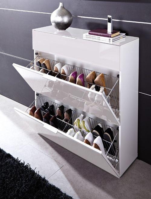 Pin De Placida Soto Em Muebles Para Zapatos Decoracao Da Sala Organizar Sapatos Organizacao Da Casa