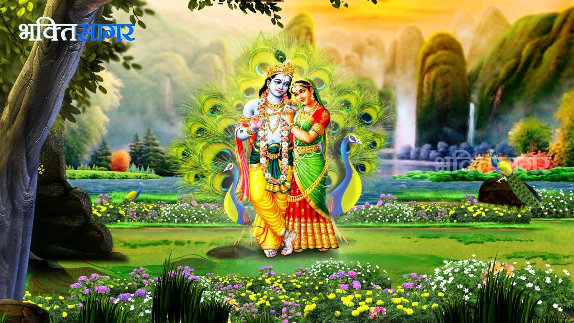 Lord Krishna Hd Wallpapers 1080p 633965 Lord Krishna Hd Wallpaper Hd Wallpapers 1080p Krishna Radha Painting