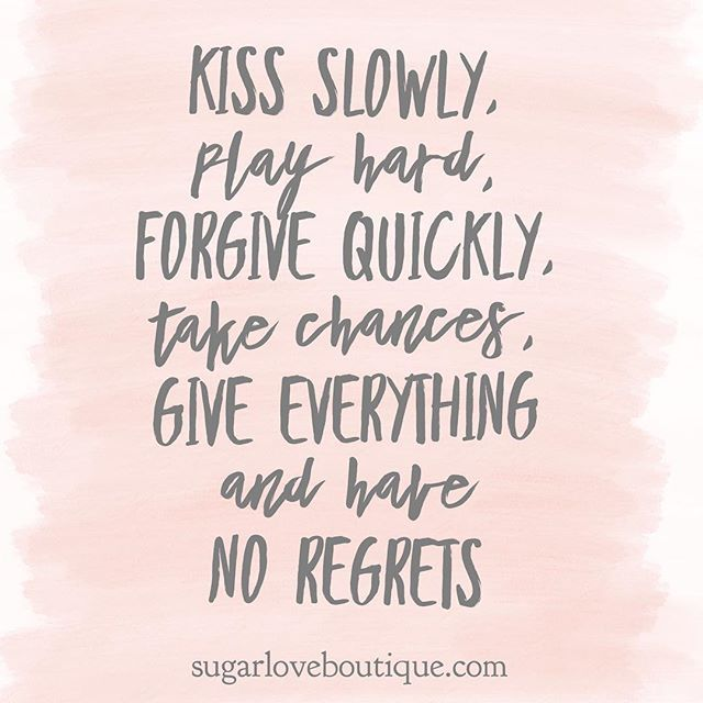 Live with no regrets 💗 | Magical quotes, Be yourself ...