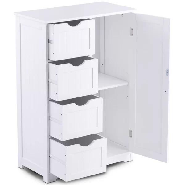 Highland Dunes Cofield Wooden 22 W X 32 H Cabinet Wayfair Bathroom Storage Units Storage Cabinets Bathroom Storage
