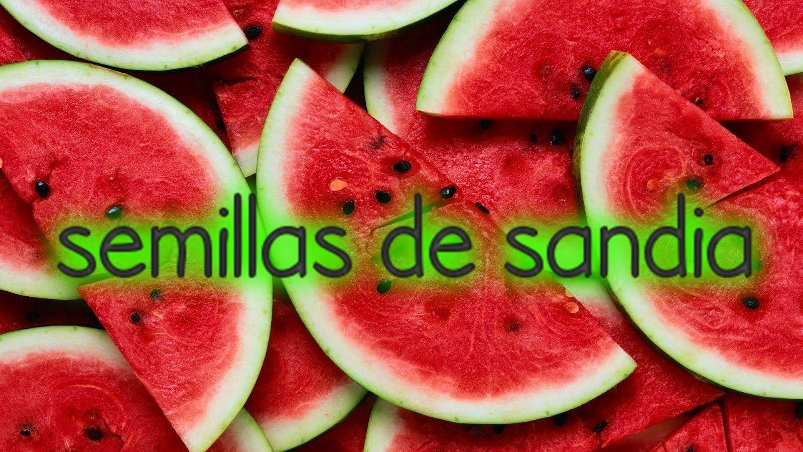 SEMILLAS DE SANDIA PARA LIMPIAR RIÑONES Y ELIMINAR CALCULOS