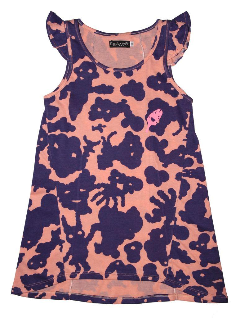 Vestido NUBES VIOLETA - Comprar en Chango