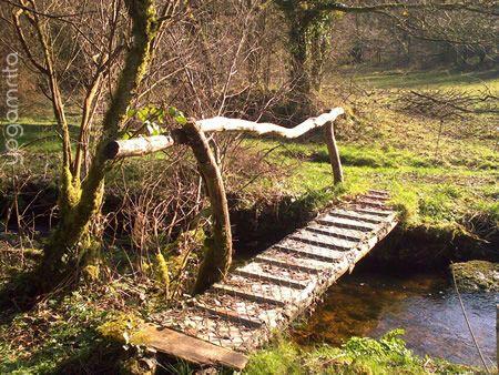 le ruisseau et le petit pont petits ponts au jardin small garden bridges pinterest. Black Bedroom Furniture Sets. Home Design Ideas