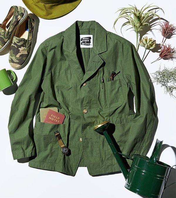 Work Hands x Beams Ripstop Tailored Jacket