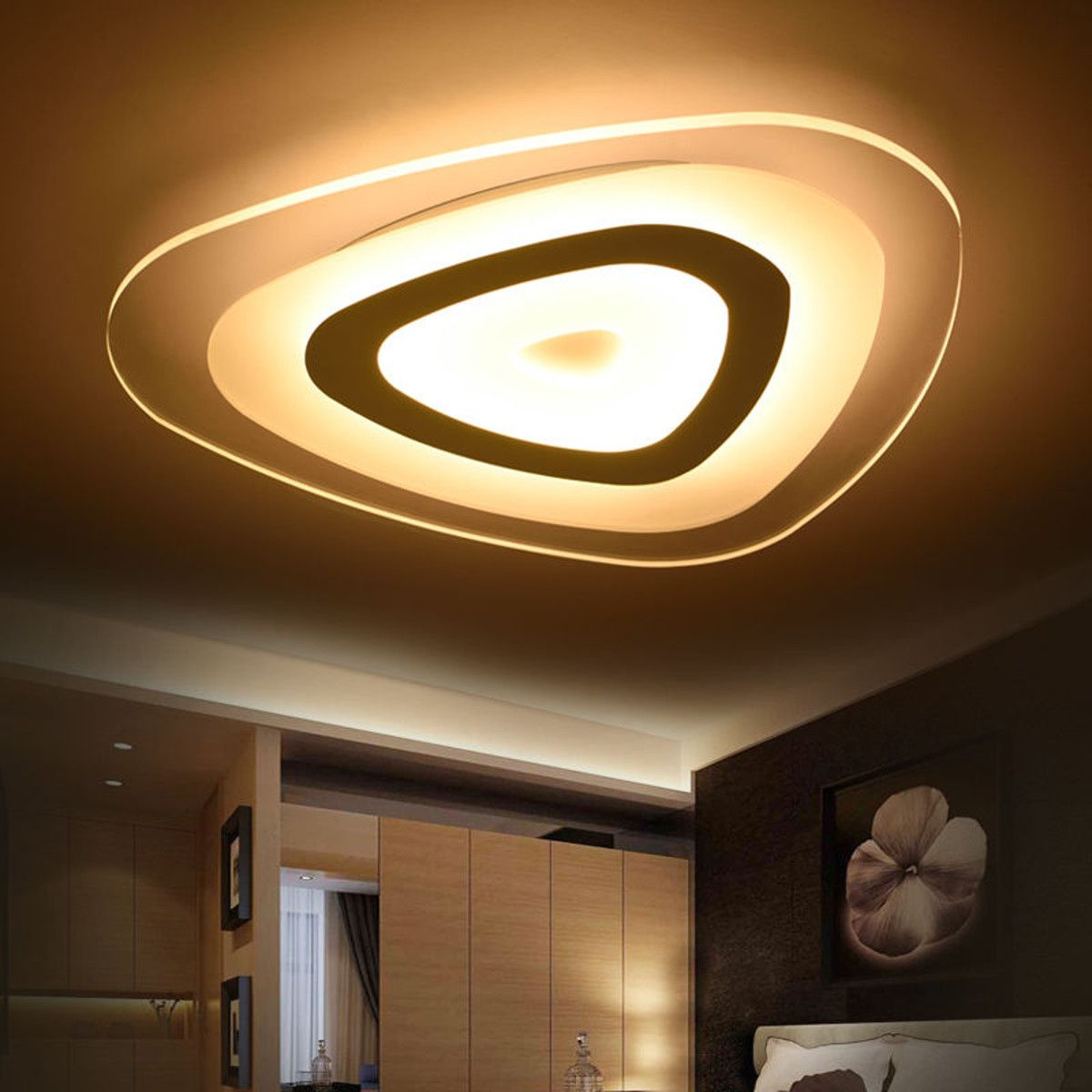 Moaere Hot Sale 3 Color Adjustable Led Ceiling Lights Modern Mango