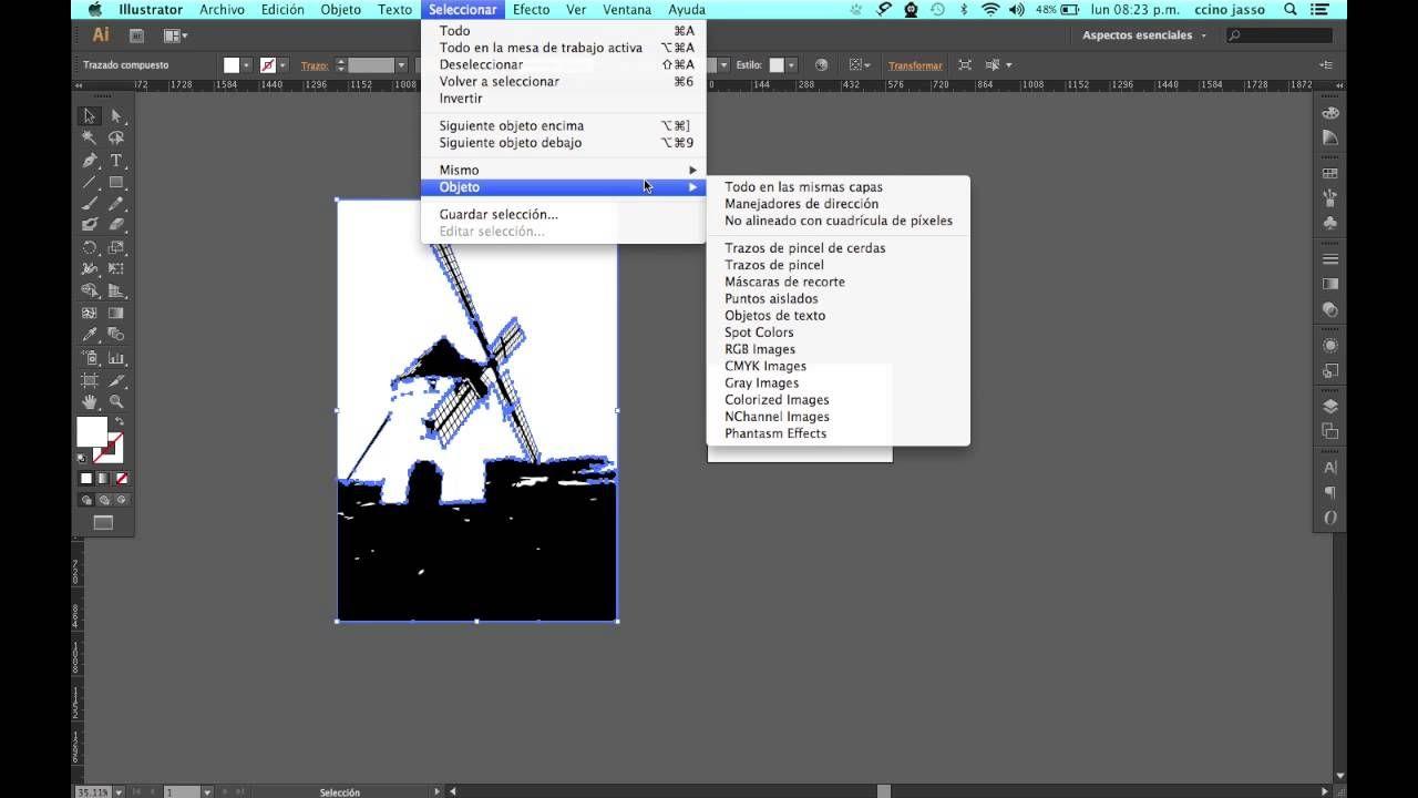 Como hacer un poster transformando una imagen a silueta (también ...