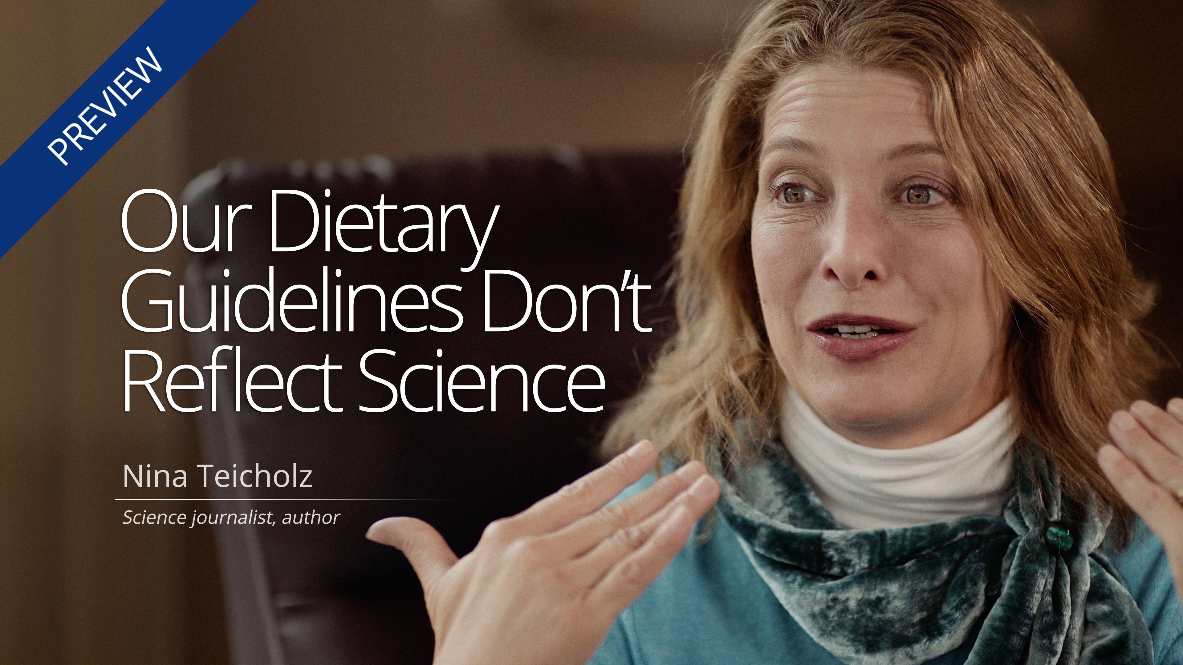 Our dietary guidelines dont reflect science diet doctor