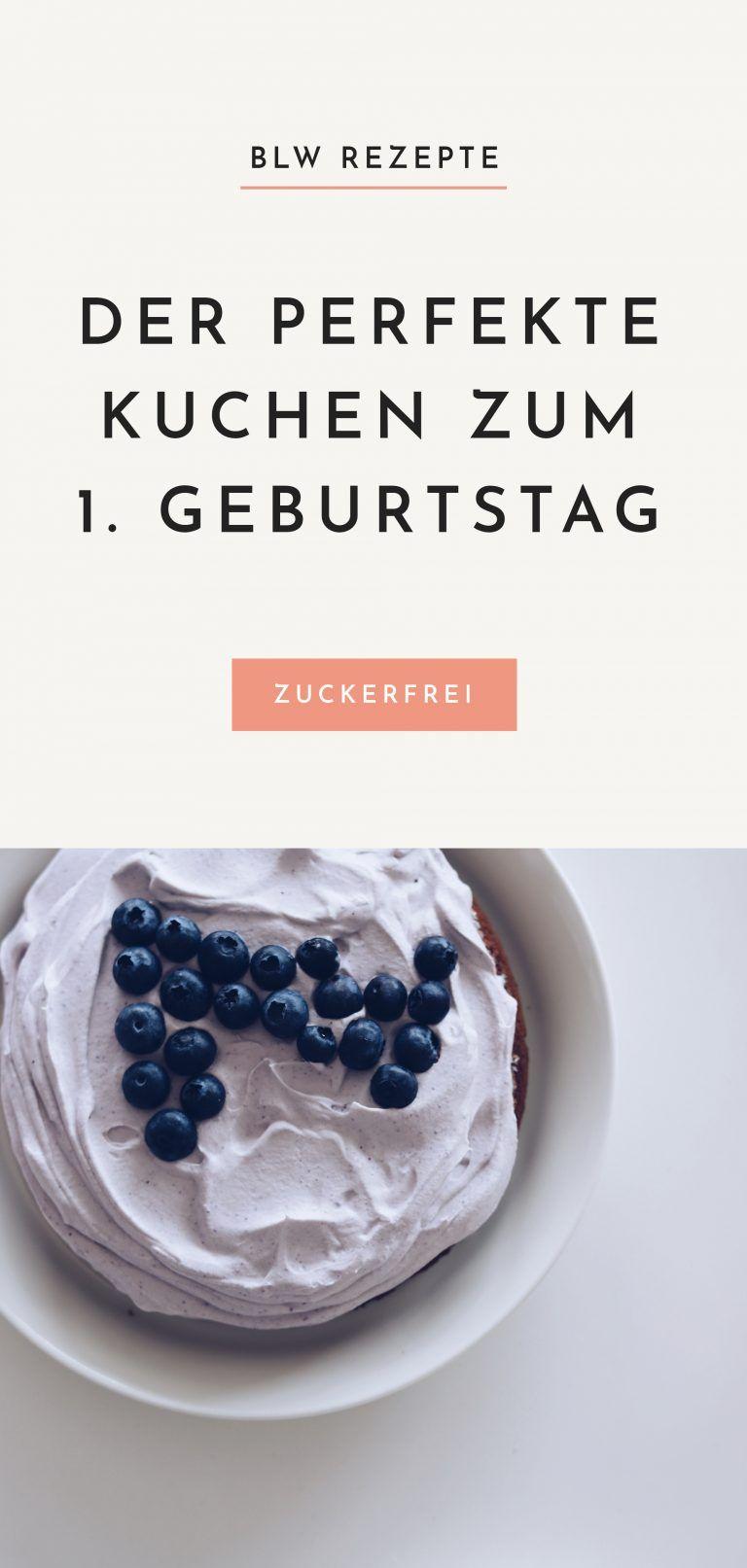 BLW Rezepte: Der perfekte Kuchen zum 1. Geburtstag #simpleicingrecipe