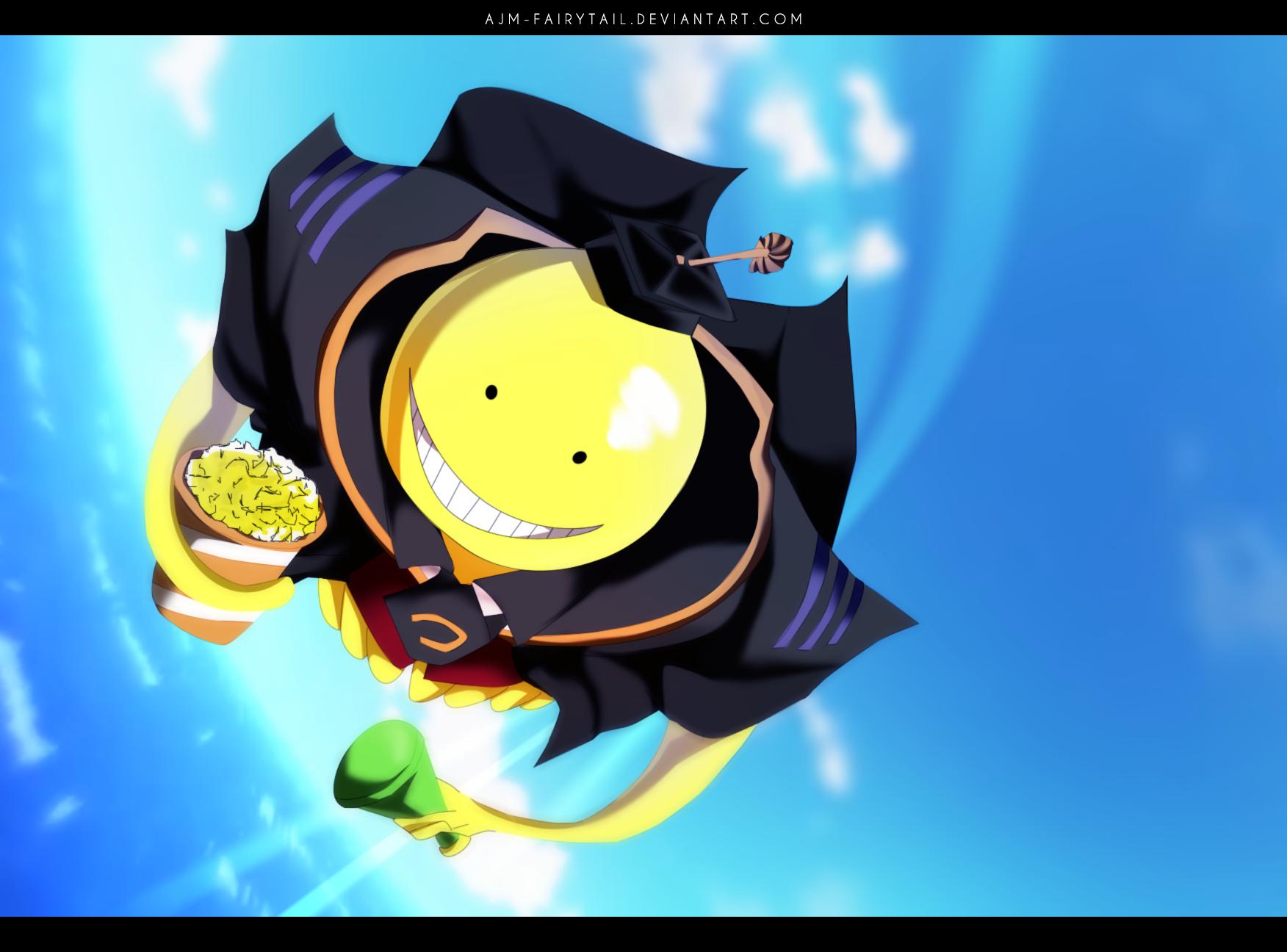 Koro Sensei By Ajm Fairytail Assassination Classroom Assasination Classroom Koro